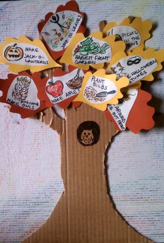 DIY Fun Fall Activities Tree
