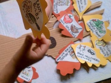 Leaves fall as you do each activity for this fun fall activity tree (2)