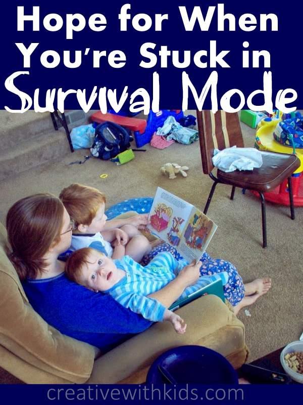 Parenting survival mode