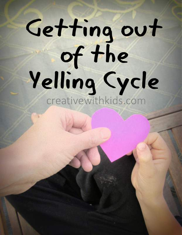 A simple way to get out of a yelling cycle
