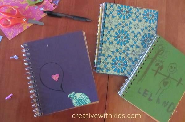 Art journaling with Kids - Artterro art journal kits