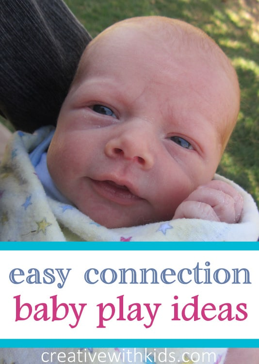 Big list of easy interactive play ideas for babies
