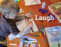 Laugh art journal promtps