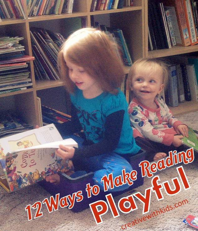 Make Reading Interactive - get out of a rut and play with these ideas