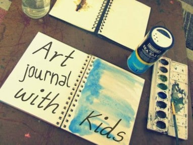 3 Ways to Prepare an Art Journal Page + Journal Prompts for Prepare
