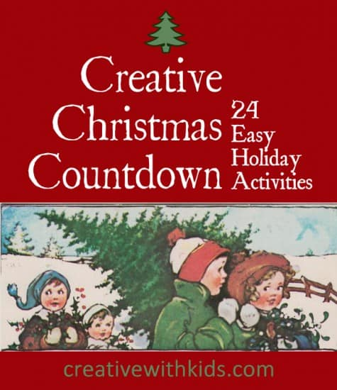 creative christmas countdown online advent calendar with 24 easy holiday crafts and activites