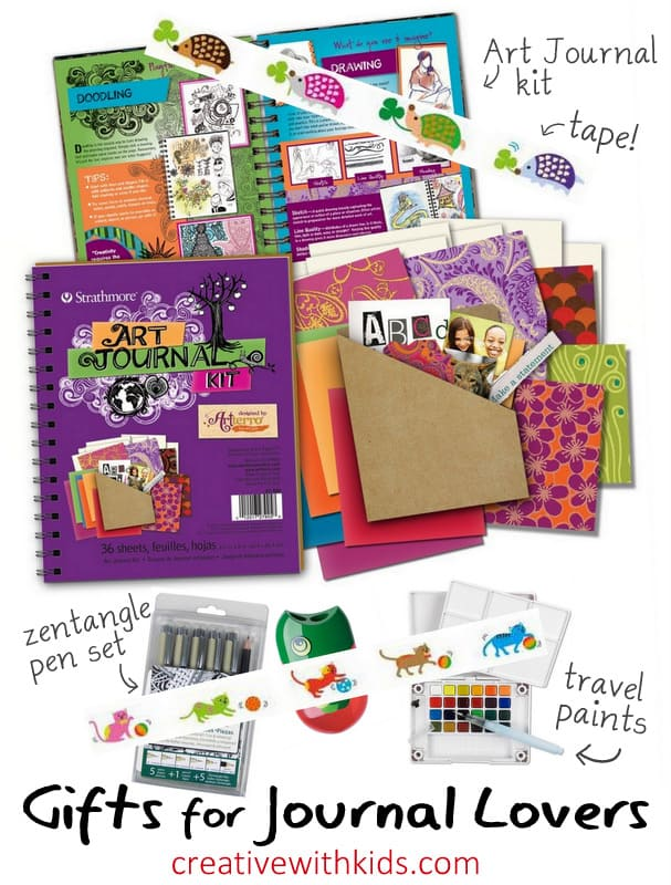 Gifts for Creative Journaling