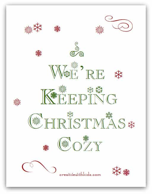 Keeping Christmas Cozy Download and inspirational emails