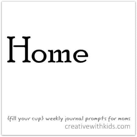 Weekly Journal Prompts - Home
