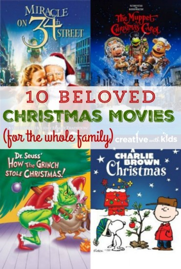 Christmas For All Ages.10 Great Christmas Movies For Kids Of All Ages