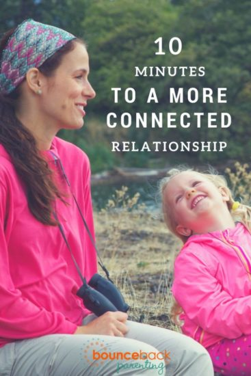 Strengthen your bond with these 10 minute connection activities for kids of every age
