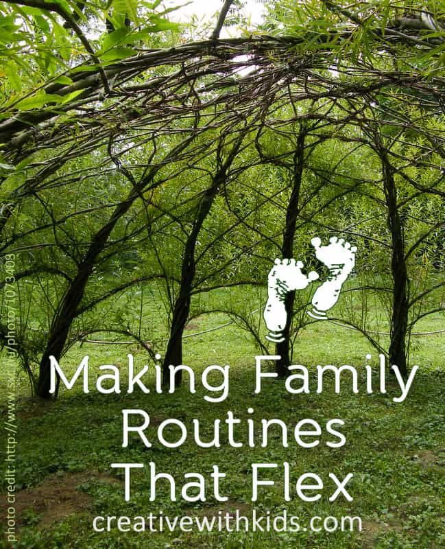 Flexible Consistency - The Trick to Routines for Kids that Bend but Don't Break