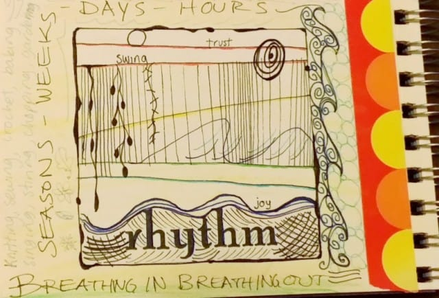 Rhythm – Fill Your Cup Journal Prompt