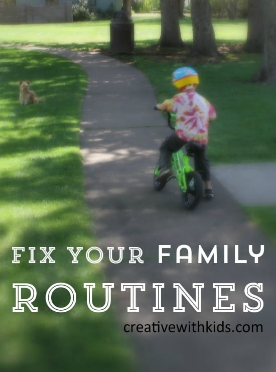 Start a New Routine for Your Family that Works