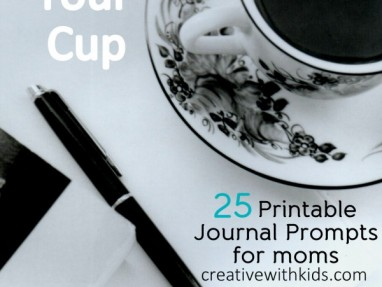 25 Printable Journal Prompts for Moms