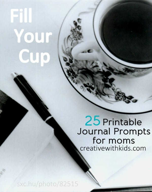 25 Printable Promts for Journaling - Fill Your Cup