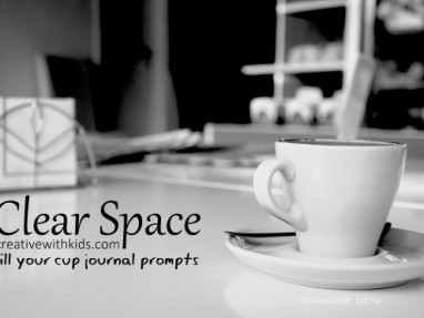 Journal Prompts – Clearing Space