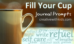 Fill Your Cup Journal Prompts for Moms