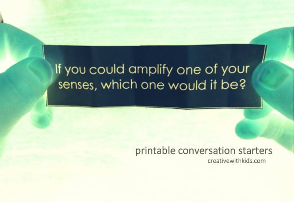 printable conversation starters for family dinners