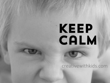 How do you stay calm when a kid is yelling at you?