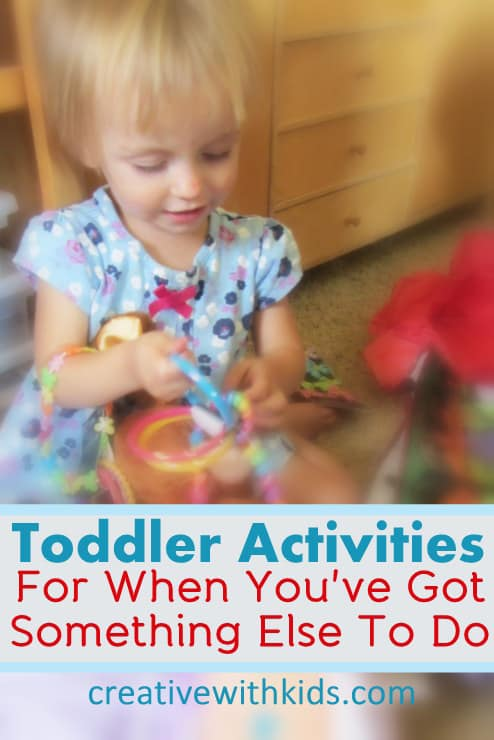 Tips for Keeping Toddlers Playfully Busy