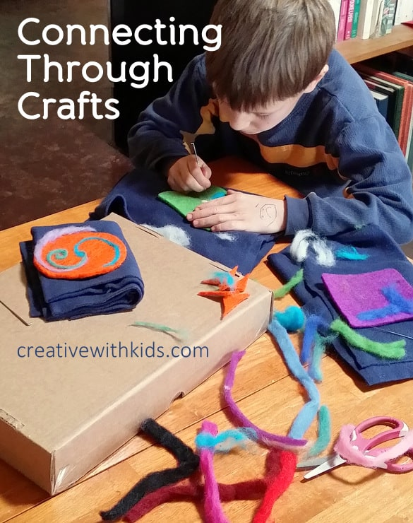 Connecting With Boys Through Arts and Crafts