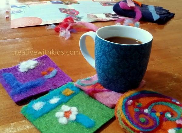 Artterro Felt Coaster kit great arts and crafts kits