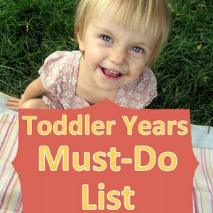 To Do With Toddlers Activity List