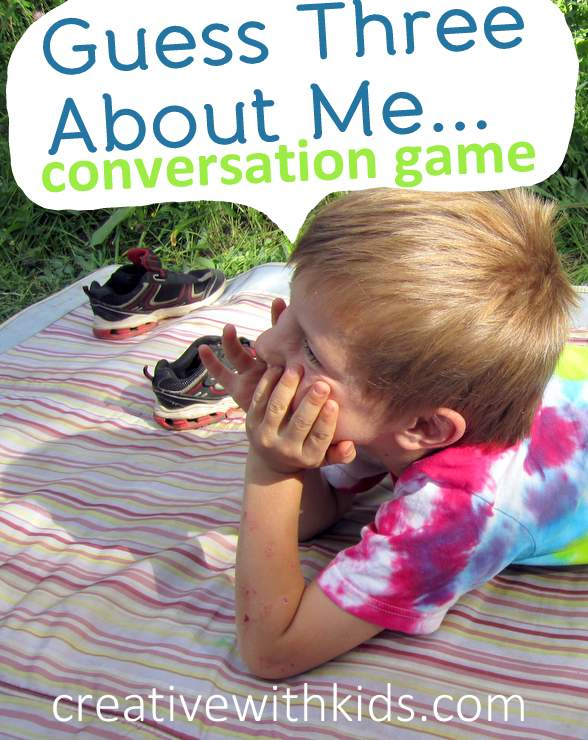 Conversational game to get chatting with your kids