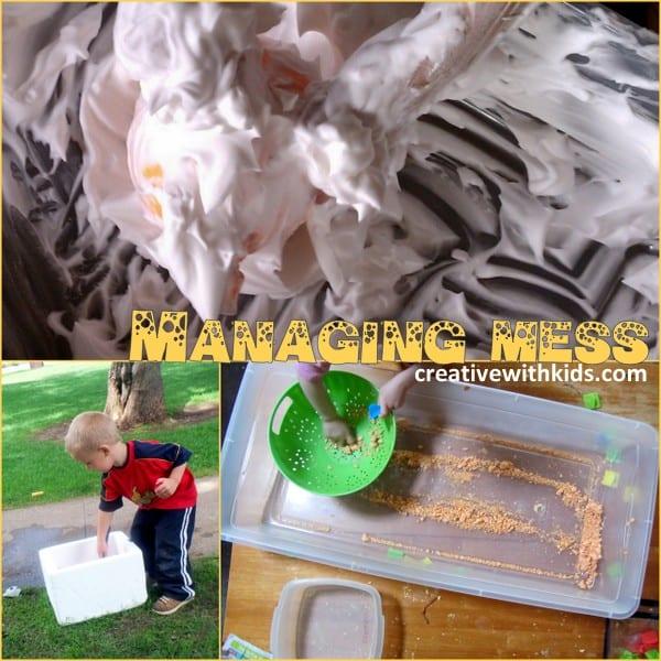 Tips - Managing Mess
