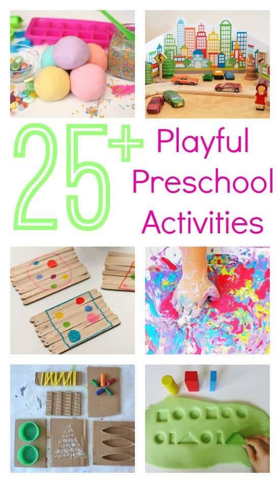 25 Playful Preschool Activities Ebook