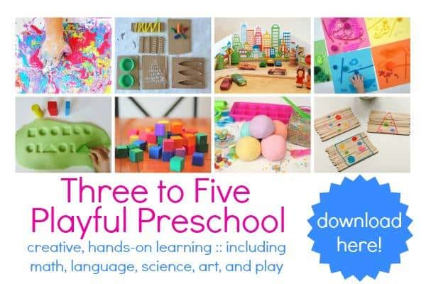 3-5 playful preschool