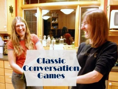 5 Classic Conversation Games - Great conversation starters for family dinners, car rides, anytime!