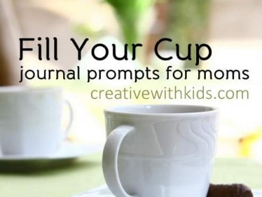 Journal Prompts About Getting Focused – Fill Your Cup