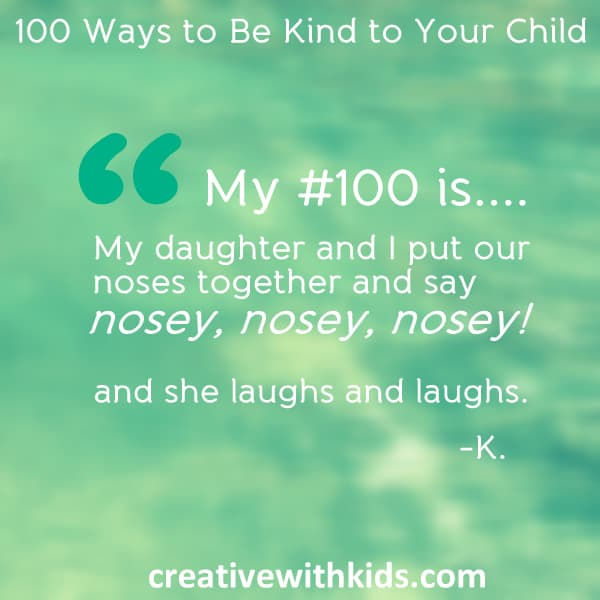 our 100 Ways to be Kind - Quotes for Number 100