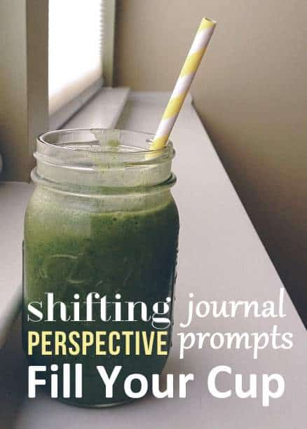 Journal Prompts - on shifting perspective