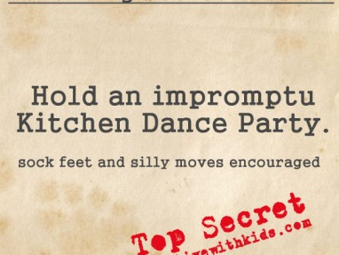 10 Songs for a Kitchen Dance Party – Parenting Secret Mission