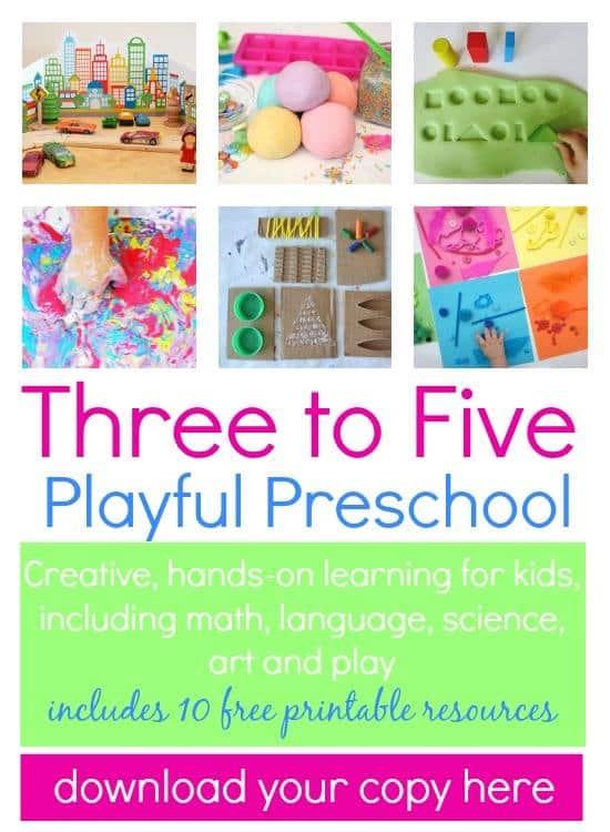 Three to Five Playful Preschool Ebook