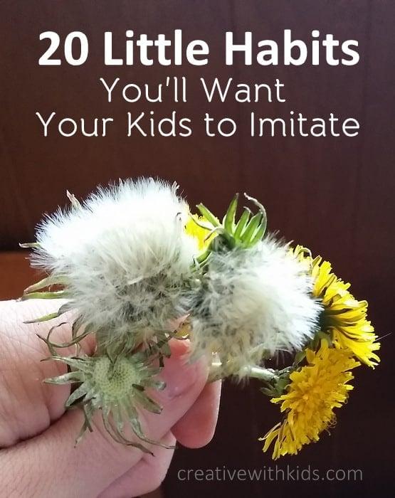 20 Little Habits