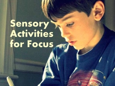 5 Sensory Activities that Help with Focus