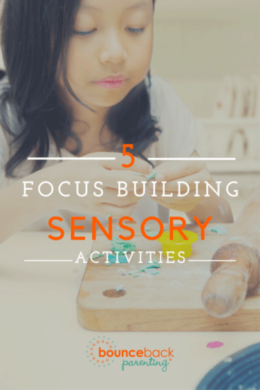 Help kids focus with these sensory activities
