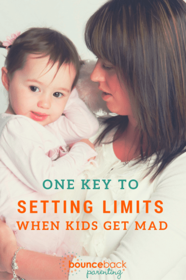 Setting Limits when Kids get MAD