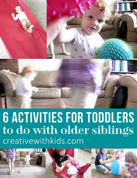 6 Activities for Toddlers to do with siblings