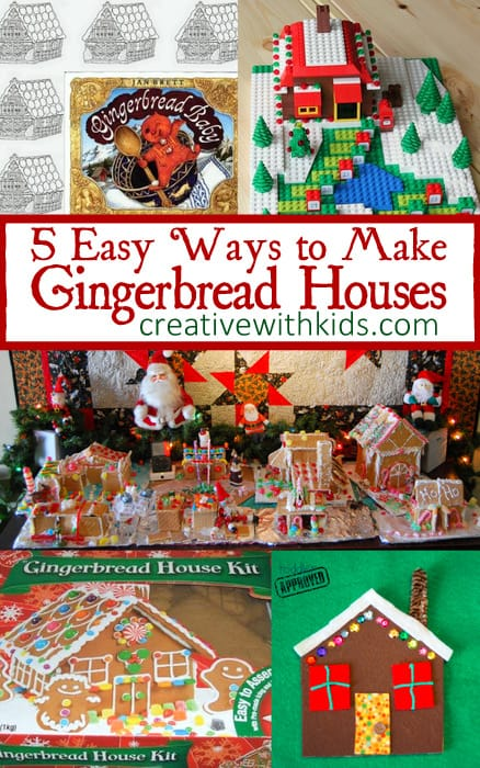 Easy to Make Gingerbread Houses