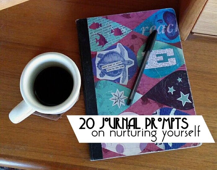 Jornal Prompts - Nurture Yourself This Year