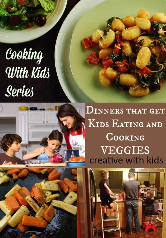 Get Kids Eating and Cooking Veggies with These Dinners