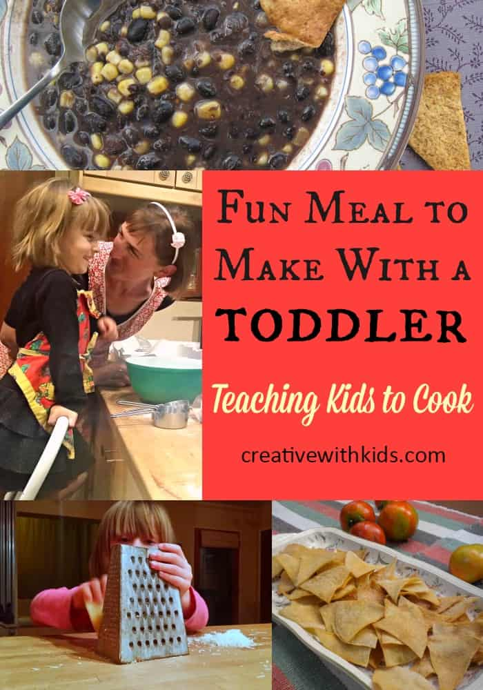 a meal so easy a toddler can make it