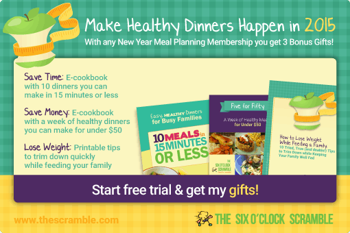The Scramble Family Meal Planning