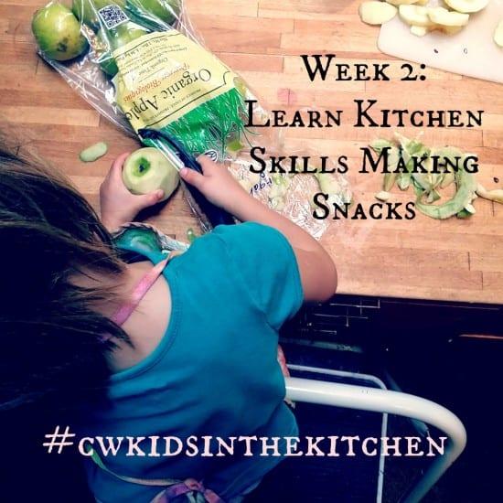Week 2 Teaching Kids to Cook Series