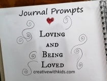 love journal prompts cover